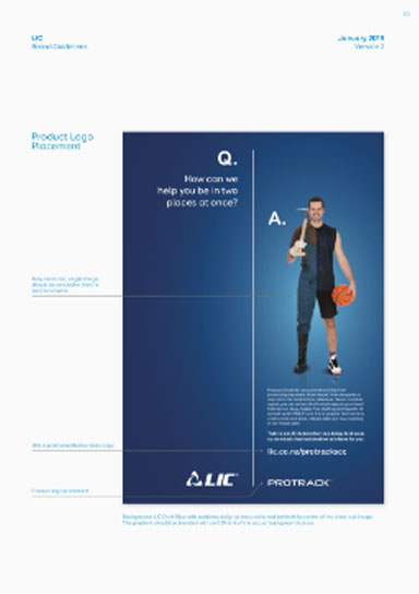 LIC branding collateral Image